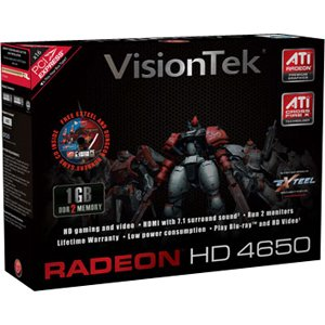 Visiontek 900264 Radeon HD 4650 Graphics Card
