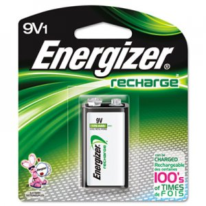 Energizer NH22NBP NiMH Rechargeable Battery, 9V EVENH22NBP