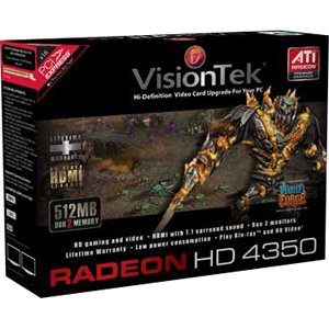 Visiontek 900308 Radeon HD 4350 Graphics Card