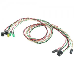 StarTech.com BEZELWRKIT Power Reset LED Wire Kit