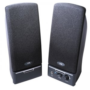 Cyber Acoustics CA-2012RB CA-2012rb Amplified Computer Speaker System