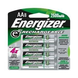 Energizer NH15BP-8 AA Nickel Metal Hydride Battery