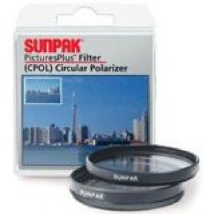 Tocad America DF-7059-CP Sunpak 58mm Coated Circular Polarizer Filter