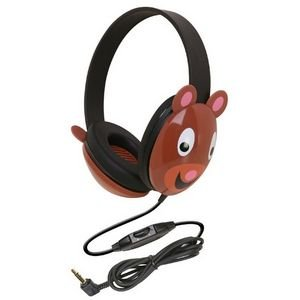 Ergoguys 2810-be Kids Stereo PC Bear Design Headphone