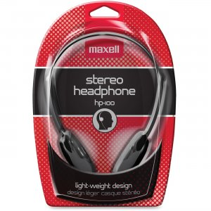 Maxell 190319 Lightweight Stereo Headphone HP-100