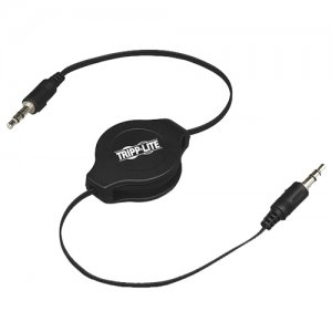 Tripp Lite P310-004-R Retractable 3.5 mm Stereo Audio Cable