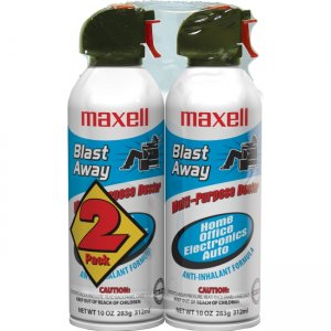Maxell 190026 Blast Away Canned Air 152a Formula 2 Pk (CA-4)