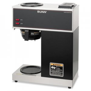 BUNN VPR VPR Two Burner Pourover Coffee Brewer, Stainless Steel, Black BUNVPR