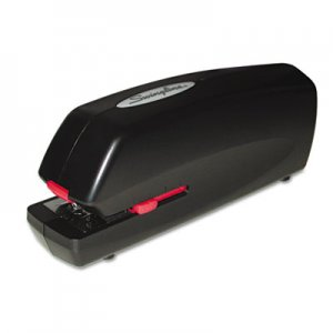 Swingline 48200 Portable Electric Stapler, 20-Sheet Capacity, Black SWI48200 S7048200A