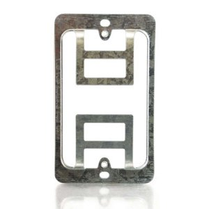C2G 03785 Double Gang Wall Plate Mounting Bracket
