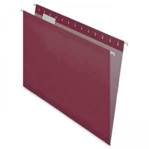 Esselte 4152 1/5 BUR Pendaflex Color Hanging Folder ESS415215BUR