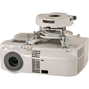 Peerless PRG-UNV-W PRG Precision Projector Mount with Spider Universal Adapter Plate For Multimedi
