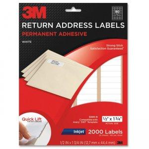 3m 3200 r address label mmm3200r With 3m return address labels