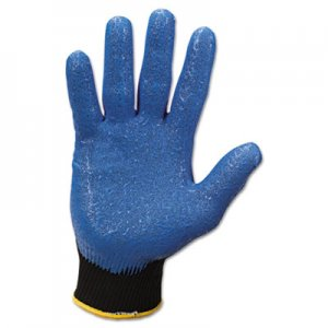 Jackson Safety 40225 G40 Nitrile Coated Gloves, Small/Size 7, Blue, 12 Pairs KCC40225
