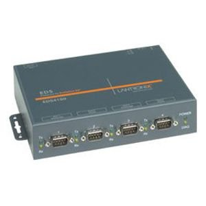 Lantronix ED41000P0-01 4-Port Device Server with PoE EDS4100