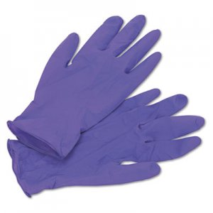 Kimberly-Clark KCC55082 PURPLE NITRILE Exam Gloves, Medium, Purple, 100/Box
