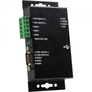 StarTech.com ICUSB422IS 1 Port USB to RS422/RS485 Serial Adapter ICB422IS