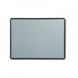 Quartet 7694BE Contour Fabric Bulletin Board, 48 x 36, Light Blue, Plastic Navy Blue Frame QRT7694BE