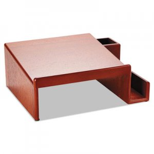 Rolodex 1734646 Wood Tones Phone Center Desk Stand, 12 1/8 x 10, Mahogany ROL1734646