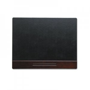 Rolodex 23390 Wood Tone Desk Pad, Mahogany, 24 x 19 ROL23390