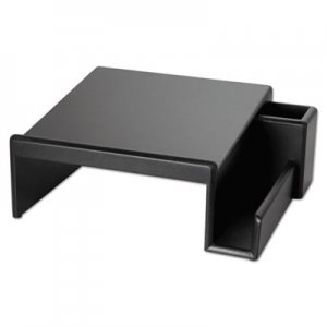 Rolodex 62538 Wood Tones Phone Center Desk Stand, 12 1/8 x 10, Black ROL62538