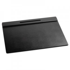 Rolodex 62540 Wood Tone Desk Pad, Black, 21 x 18 ROL62540