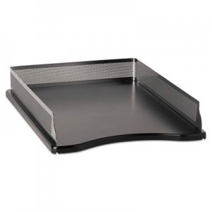 Rolodex E23565 Distinctions Self-Stacking Letter Desk Tray, Metal/Black ROLE23565