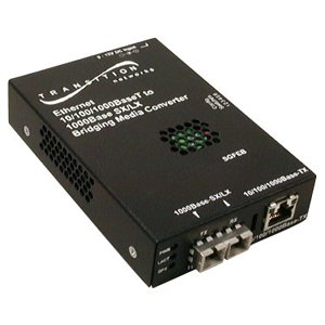 Transition Networks, Inc SGFEB1013-120-NA 10/100/1000BASE-T to 1000BASE-SX Stand-Alone Media Converter SGFEB1013-120