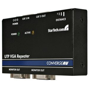 StarTech.com ST121EXT VGA over Cat 5 UTP Video Extender Repeater