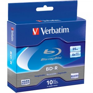 Verbatim 97238 Blu-ray Recordable BD-R 6x Disc VER97238