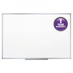 Mead MEA85356 Dry-Erase Board, Melamine Surface, 36 x 24, Silver Aluminum Frame