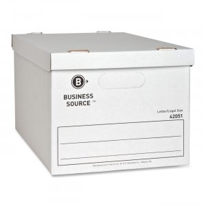 Business Source 42051 File Storage Box BSN42051