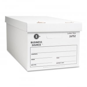 Business Source 26752 File Storage Box BSN26752