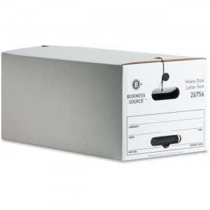 Business Source 26756 File Storage Box