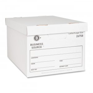Business Source 26758 File Storage Box BSN26758