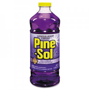Pine-Sol 40272 All-Purpose Cleaner, Lavender Scent, 48 oz. Bottle CLO40272