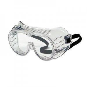 Crews 2220 Safety Goggles, Over Glasses, Clear Lens CRW2220