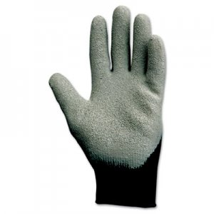 KleenGuard KCC97272 G40 Latex Coated Poly-Cotton Gloves, 250 mm Length, Large/Size 9, Gray, 12 Pairs