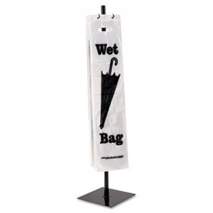 Tatco 57019 Wet Umbrella Bag Stand, Powder Coated Steel, 10w x 10d x 40h, Black TCO57019
