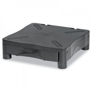 Kelly Computer Supply KCS10368 Adjustable Monitor Stand w/Single Storage Drawer, 13-1/4 x 13-1/2 x 2