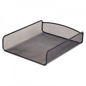 Safco SAF3272BL Desk Tray, Single Tier, Steel Mesh, Letter, Black