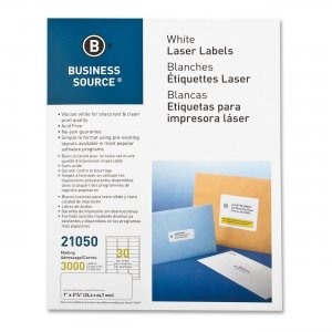 Business Source 21050 Mailing Label
