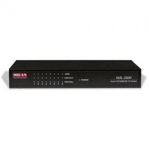 Transition Networks MIL-S800-UK MiLAN Ethernet Switch MIL-S800