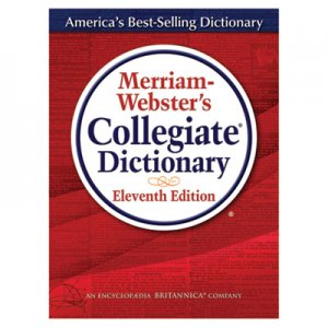 Merriam Webster 8095 Merriam-Webster s Collegiate Dictionary, 11th Edition, Hardcover, 1,664 Pages MER8095