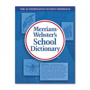 Merriam Webster 6800 School Dictionary, Grades 9-11, Hardcover, 1,280 Pages MER6800
