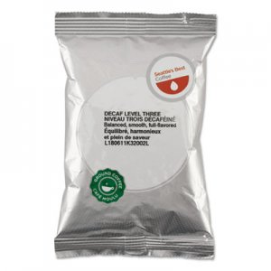 Seattle's Best 11008554 Premeasured Coffee Packs, Decaf Signature-Level 3, 2 oz Packet, 18/Box SEA11008554
