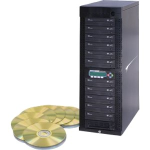 Kanguru DVDDUPE-SHD11 11 Target, 24x DVD Duplicator with Internal Hard Drive