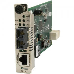 Transition Networks C2110-1014 Fast Ethernet Media Converter