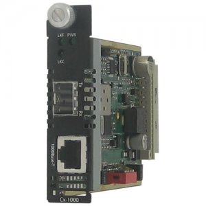Perle 05051190 Gigabit Ethernet Managed Media Converter C-1110-SFP
