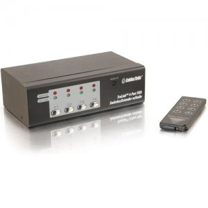 C2G 39972 TruLink 4-Port Video Switcher/Extender with Audio